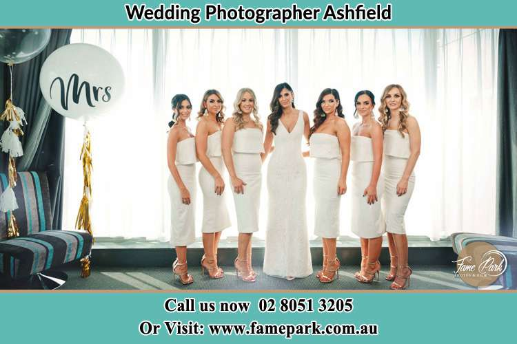 Photo of the Bride and the bridesmaids Ashfield NSW 2131