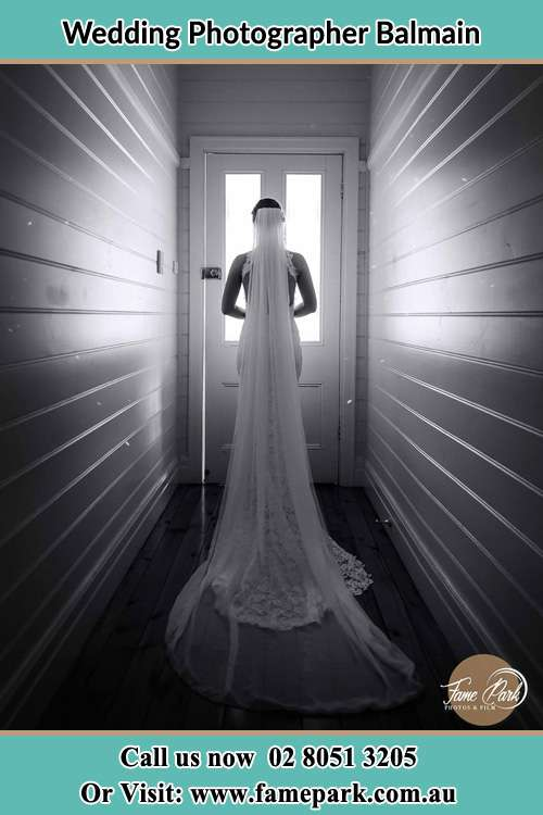 Photo of the Bride going out the door Balmain NSW 2041