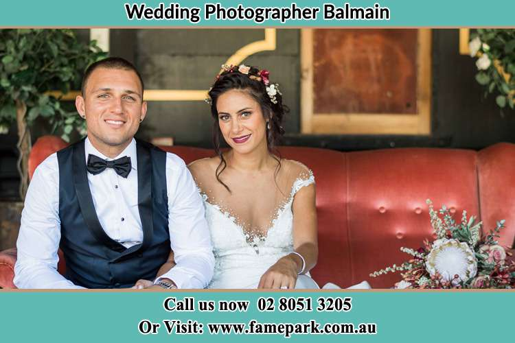 Photo of the Groom and the Bride Balmain NSW 2041