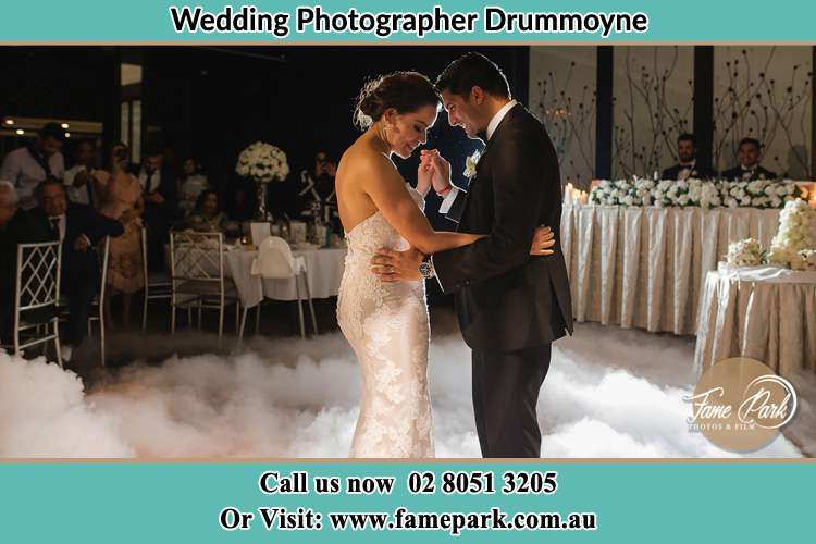Photo of the Bride and the Groom dancing Drummoyne NSW 2047