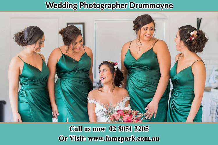 Photo of the Bride and the bridesmaids Drummoyne NSW 2047